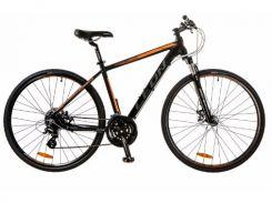Велосипед Leon 28 HD-80 AM Hydraulic lock out 14G DD рама 19 Al (м) (2017) Черно-оранжевый