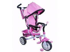 Трехколесный велосипед Bertoni B302A Pink/white
