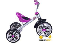 Велосипед трехколесный Caretero York purple