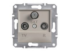 Розетка TV-R-SAT конечная Schneider Electric Asfora Бронза (EPH3500169)
