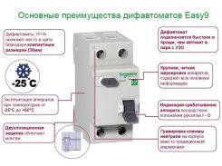 Дифференциальный автоматический выключатель Schneider Electric 1Р+N/16А/30мА (EZ9D34616)