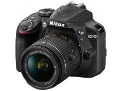 Фотокамера зеркальная Nikon D3400 + AF-P 18-55 Non-VR KIT (VBA490K002)