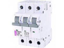 Автоматический выключатель Etimat 6 3p C 63А (6 kA)