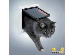Дверь Trixie FreeCat de Luxe для котов большая 24*24см
