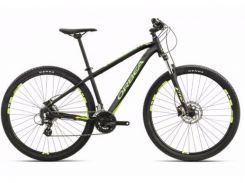 Велосипед Orbea MX 29 40 M Black-green-yellow