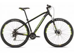 Велосипед Orbea MX 27 50 S Black/Green/Yellow