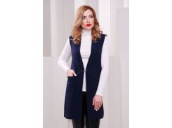 Жилет FashionUp Rose KD-1432 48 Темно-синий