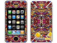 Защитная пленка-скин Bodino для iPhone 4 Carioca by Flavio Melchiorre