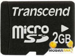 Карта памяти Transcend 2GB microSD (no adapter) (TS2GUSDC)