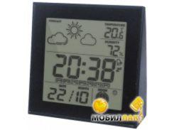 Термометр-гигрометр цифровой Стеклоприбор Т-06 black