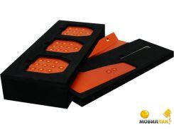Набор металических пластин для педалей Fanatec Porsche Clubsport оранжевые (CSPCKIT OREU)