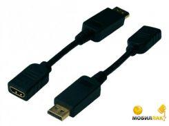 Адаптер Digitus DisplayPort to HDMI (AK-340408-001-S)
