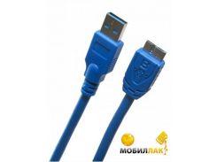 Extradigital USB 3.0 AM / micro USB B, 0.5m, 28 AWG, Hi-Speed