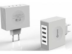 Зарядное устройство Nomi HC05424 4 USB Port (4.1A) White