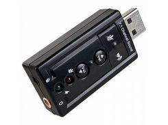 Звуковая плата Dynamode C-Media USB 8 3D RTL (USB-SOUND7-BLACK)
