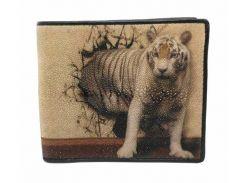 Кошелек Ekzotic leather из натуральной кожи морского ската   (stw 102)