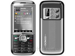Мобильный телефон Donod D906 2 сим,2,6 дюйма, TV, металлический корпус.