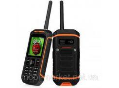 Мобильный телефон+Рация Land Rover X6   2 сим,2,4 дюйма,IP67.2500 мА/ч.