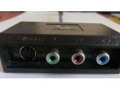 Кабель видеовыход с видеоадаптера Gigabyte на S-Video+RCA