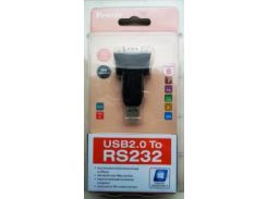 Переходник с USB на COM 9pin папа (RS 232),  Viewcon VE042