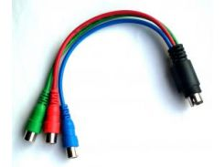Переходник с видеокарты на RGB (7 пин)