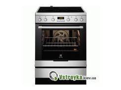 Электрическая кухонная плита Electrolux EKC 6450 AOX
