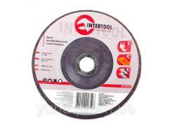 Диск шлифовальный лепестковый INTERTOOL BT-0235