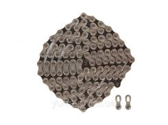 Цепь 10ск. 116зв. КМС X10 с замком (silver/black)
