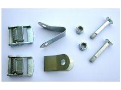 Пряжки стальные Peruzzo 398, 2 шт (PZ 398)