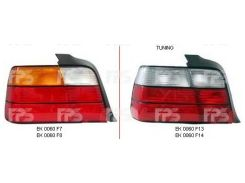 Фонарь задний для BMW 3 E36 седан '90-99 правый (DEPO) красно-белый