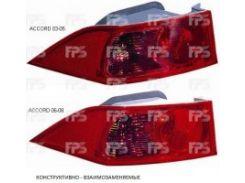 Фонарь задний для Honda Accord 7 '03-05 левый (DEPO) внешний 217-1958L-UE
