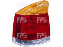 Фонарь задний для Opel Vectra C '02-05 левый (DEPO) желто-красный 442-1927L-UE-YR
