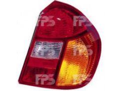 Фонарь задний для Renault Clio Symbol '01-05 правый (DEPO) красно-желтый