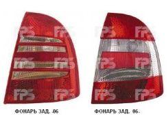 Фонарь задний для Skoda Superb '02-06 правый (DEPO) 3U5945112