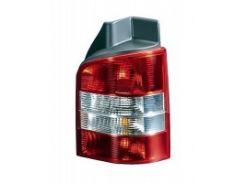 Фонарь задний для Volkswagen Transporter T5 '03-09 правый (DEPO) 1 дверь, красно-белый