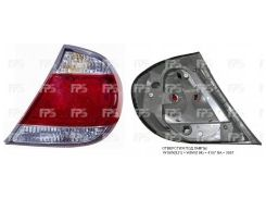 Фонарь задний для Toyota Camry V30 '04-06 правый (DEPO) америк. версия, 4 лампы 212-19K6R-U