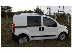 Рейлинги для Fiat Fiorino Qubo '08-, хром (пласт. концевик)