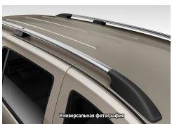 Рейлинги для Renault Trafic '01-14, кор. база, серые (пласт. концевик)