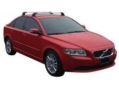 Багажник на крышу для Volvo S40 '04-12, до края опоры (Whispbar-Prorack)