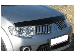 Дефлектор капота для Mitsubishi Pajero Sport '08-16 (EGR)