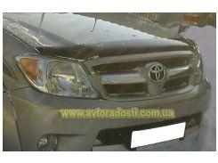 Дефлектор капота для Toyota Hilux '05-11 (EGR)