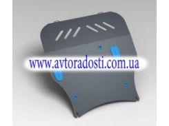 Защита картера двигателя для Citroen C-Crosser (3 мм) 2,4 МКПП/АКПП