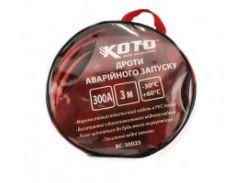 Провода прикуривания Koto BC-30025 300А 3м