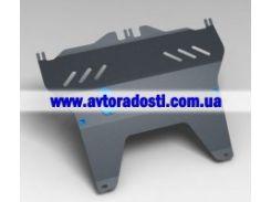 Защита картера двигателя для PEUGEOT 107 '05- (2 мм) МКПП/АКПП