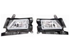 Противотуманная фара для Mazda 3 '09-13 USA правая электрическая (DEPO) BBP351680C