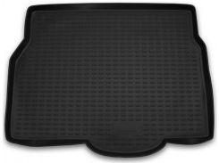 Коврик в багажник для Opel Astra H '04-15, хетчбэк, полиуретановый (Novline) черный