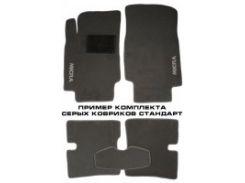 Коврики в салон для Honda Legend '04-13 текстильные, серые (Стандарт)