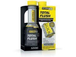 Очиститель маслосистемы двигателей с эффектом раскоксовки поршневых колец AtomEx TotalFlush в баллоне 250 мл