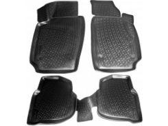 Коврики в салон для Volkswagen Polo '10-, седан полиуретановые (L.Locker)