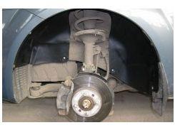 Подкрылок передний левый для Kia Rio '05-11 (Novline)
